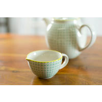 Carla Milk Jug in Green/Yellow