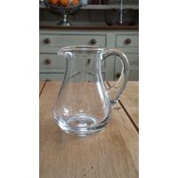 Glass Milk Jug Creamer 11.5Cm High