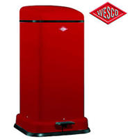 Wesco Tower Kick Bin Red