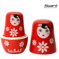 Swift Russian Doll Measuring Cup Set