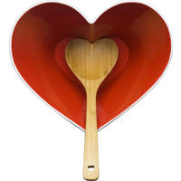 Heart Bowl With Ladle