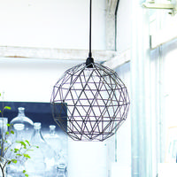 Iron Ball Pendant Shade