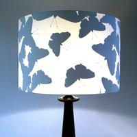 Silhouette Butterfly Lampshade (white) from Duffy London