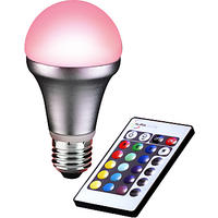 Auraglow 4W ES A55 LED Bulb and Remote Control
