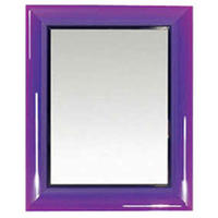 Francois Ghost Purple Mirror by Philippe Starck 65 x 79cm from Heal's