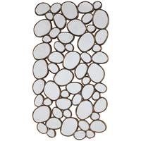 Venetian Gold Pebble Mirror