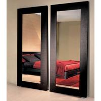 Modern New Tall Standing Wenge Wood Frame Bonny Mirror from Furniture for Home