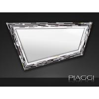 Rhombus black PIAGGI glass mosaic mirror by Piaggi
