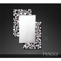 Kaleidoscope PIAGGI violet glass mosaic mirror by Piaggi