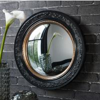 Madmoiselle Boutique Black Convex Mirror