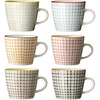 Mugs - Carla, set of 6