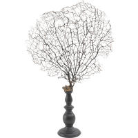 Decorative Wind Swept Coral On Stand
