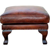 John Lewis Compton Leather Footstool