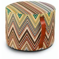 Missoni Home - Kew Cylindrical Pouf - T42 - 40x30h cm