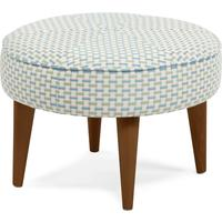 Lulu Footstool, Honeycomb Weave from made.com