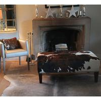 2ft x 3.6ft Cowhide Footstool - XL1