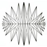 Abstract Metal Wall Art from Garden Beet