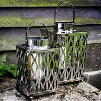 Nickel Lattice Lantern