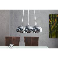 Perles D'Argent L pendant lamp with 6 chrome ball shades