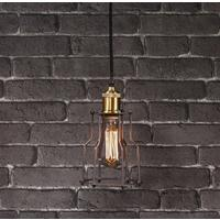 Industrial Mini Warehouse Pendant With Bulb
