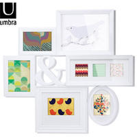 Umbra Montage Photo Art Display (White)