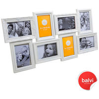 White Magic 8 Multi Photo Frame