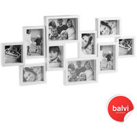 City 10 Multi Photo Frame - White