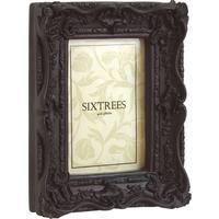 Swept Chelsea Baroque Picture Frame Black