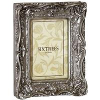Shabby Chelsea Swept Vintage Chic Silver Photo Frames