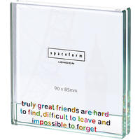Spaceform Great Friends Square Photo Frame