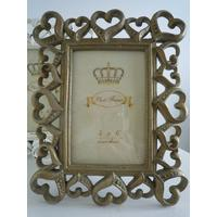 Shabby Chic Gold Photo Frame