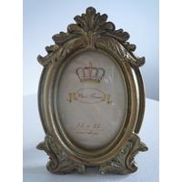 Oval Gold Photo Frame