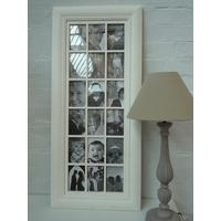 Large Cream Photo Multiframe