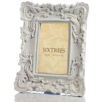Eleanor Vintage Style White Photo Frame