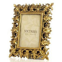 Christina Vintage Style Gold Photo Frame