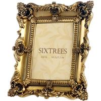 Isabella Vintage Style Gold Photo Frame