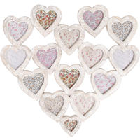 Collage Heart Photo Frame