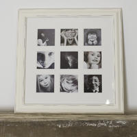 Distressed Nine Multi Photo Frame