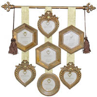 Antique Gold Collage Photo Frame