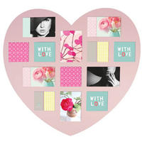 Heart Photo Frame (Pink)