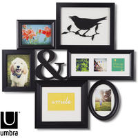 Umbra Montage Photo Art Display (Black)