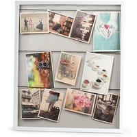 Vitrine Large Clothesline Photo Frame (White)