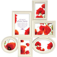 Maggiore XIV Multi Photo Frame - Cream