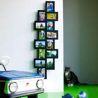 14 in 1 Black Collage Picture Frame