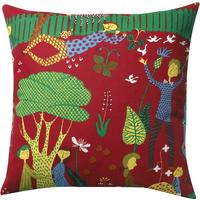 Lustgarden Art Pillow Red