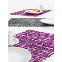 Koziol Anchracite Plastic Placemat from Gifts with Style