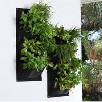 Salad and Herb Vertical Planter from Garden Beet