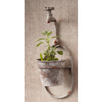 Hanging Waterspout Flower Pot
