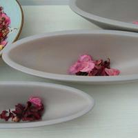 Set of 3 Plates/Boat Dishes