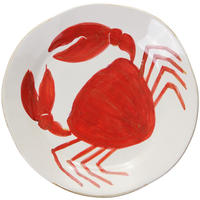 Flamant Home Interiors - Di Mare Dinner Plate - Crab